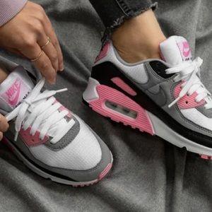 Nike air max white/rose